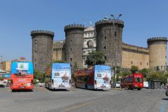Castel Nuovo Stock Image