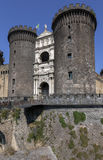Castel Nuovo in Naples, Italy Royalty Free Stock Images
