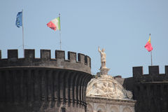Castel Nuovo, Naples Italy Royalty Free Stock Photos