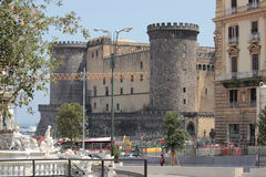 Castel Nuovo, Naples Italy Stock Images