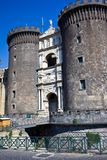 Castel Nuovo in Naples Royalty Free Stock Photos