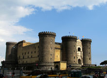 Castel Nuovo, Naples Royalty Free Stock Photography