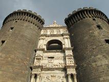 Castel Nuovo, Neapel Lizenzfreie Stockfotos