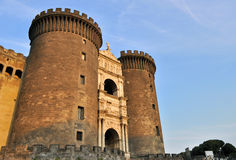 Castel Nuovo (New Castle), Napoli Royalty Free Stock Image
