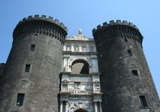 The Castel Nuovo Royalty Free Stock Photos