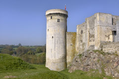 Free Castel Of Falaise In France Stock Photos - 87814983