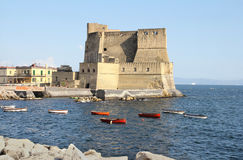 Castel ovo napoli Stock Photography