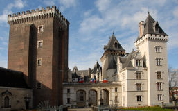 Castel of Pau Stock Photography