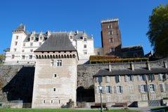 The Castel of Pau, France. The castle Henri IV of Pau, France Royalty Free Stock Photo