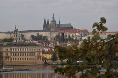 castel Prague photo stock