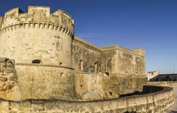 Castel prince of acaya,lecce, Stock Image
