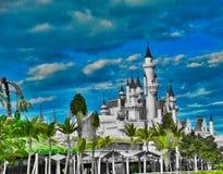 Castel przy Singapur fotografia royalty free