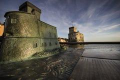 Castel of Rapallo Stock Photos