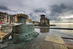 Castel of Rapallo Stock Image