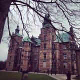 Castel real em Copenhaga Foto de Stock