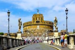 castel rome angelo sant Стоковое Изображение