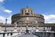 castel Rome d'Angelo sant Image libre de droits