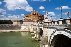 castel Rome d'Angelo sant Photos stock