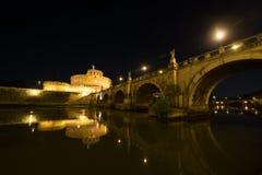 castel Rome d'Angelo sant Photos libres de droits