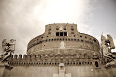 castel Rome d'Angelo sant Photo libre de droits