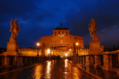 castel Rome d'Angelo sant Images libres de droits