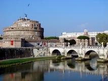 castel rome s angelo Стоковые Фотографии RF