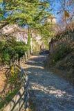 Castel Roncolo blisko Bolzano, w regionie Trentino Altowy Adige w Włochy, zdjęcie royalty free
