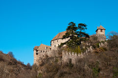 Castel Roncolo - Schloss Runkelstein. Castel Roncolo is a beautiful Castle near Bolzano / Bozen in Italy Royalty Free Stock Image