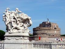 castel Rzymu jest angelo Zdjęcia Stock