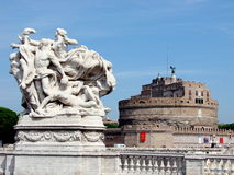 Castel S. Angelo, Rom Stockfotos