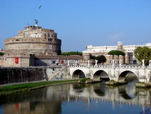 Castel S. Angelo, Rome Royalty Free Stock Photos