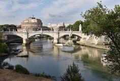 Castel Saint Angelo, Rom Lizenzfreies Stockfoto