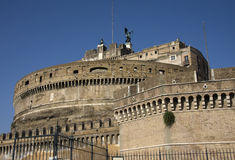 Castel Saint Angelo in Rome Stock Image