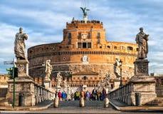 Castel SAN Angelo, Ρώμη, Ιταλία Στοκ εικόνα με δικαίωμα ελεύθερης χρήσης