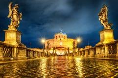 Castel SAN Angelo, Ρώμη, Ιταλία Στοκ Εικόνα
