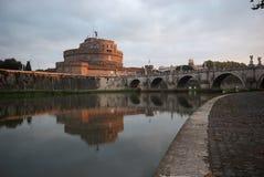 Castel SAN Angelo στην αυγή, Ρώμη, Ιταλία Στοκ Εικόνα