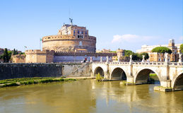 Castel San Angelo Stock Photo