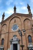 Castel San Giovanni Piacenza, Włochy: San Giovanni Battista Chu Zdjęcie Stock