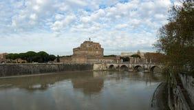 Castel Santâ-€™ Angelo Panorama Lizenzfreie Stockbilder