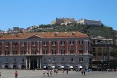 Castel SantÂ'Elmo,意大利 免版税库存照片