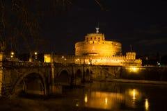 Castel Sant安吉洛梵蒂冈 免版税库存图片
