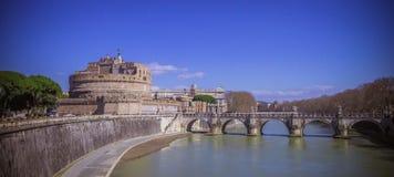 Castel Sant安吉洛 库存照片
