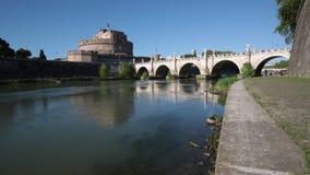 "Castel Sant ""Angelo, Ρώμη, Ιταλία απόθεμα βίντεο"