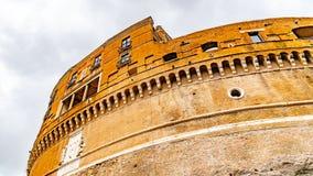 """Castel Sant """"Angelo - взгляд конца-вверх верхней части, Рима, Италии стоковые фото"""