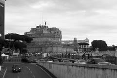 Castel Sant `安吉洛,罗马 库存图片