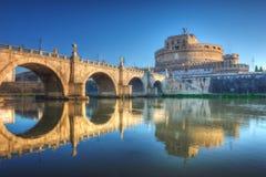 圣徒天使城堡(Castel Sant安吉洛)罗马 免版税库存照片