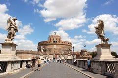 Castel Sant'Angelo à Rome Photographie stock libre de droits
