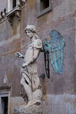 Castel Sant'Angelo Święci aniołowie Zdjęcie Stock