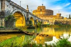 Castel Sant ` Angelo, Ρώμη, Ιταλία Στοκ Εικόνες