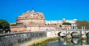 Castel Sant'angelo, Ρώμη, Ιταλία Στοκ Φωτογραφία